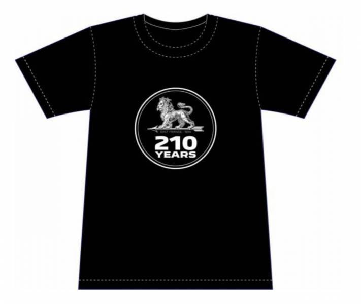 PEUGEOT 210 週年紀念 T-Shirt PEUGEOT