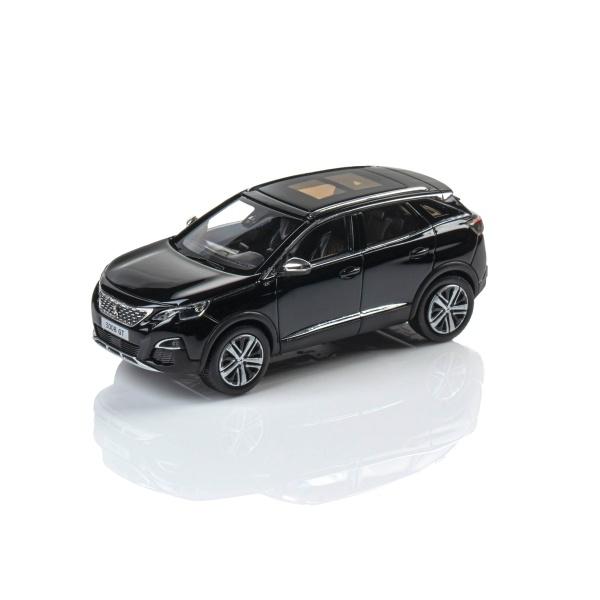 3008 SUV GT 2016 珍珠黑 1:43 模型車  PEUGEOT, 寶獅, 模型車