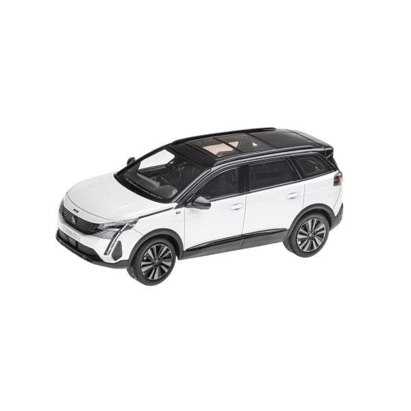 5008 GT 2020 珍珠白 1:43 模型車 PEUGEOT, 寶獅, 模型車