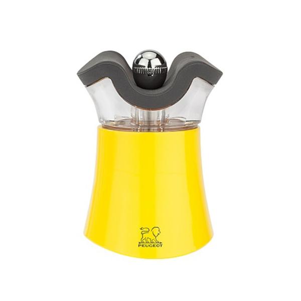 (代購) PEP'S 系列 二合一胡椒/鹽研磨罐 明黃 8cm PEUGEOT, 寶獅, 研磨器