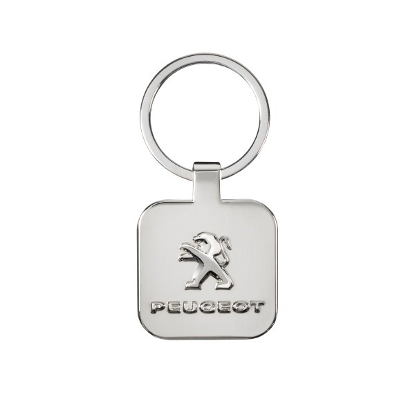 PEUGEOT 方型獅徽鑰匙圈 PEUGEOT, 寶獅, 鑰匙圈