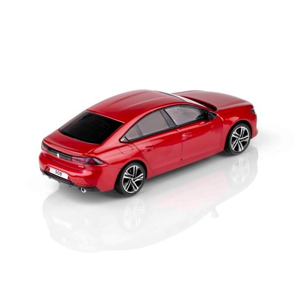 (代購) 508 GT 烈焰紅 1:43 模型車 PEUGEOT, 寶獅, 模型車