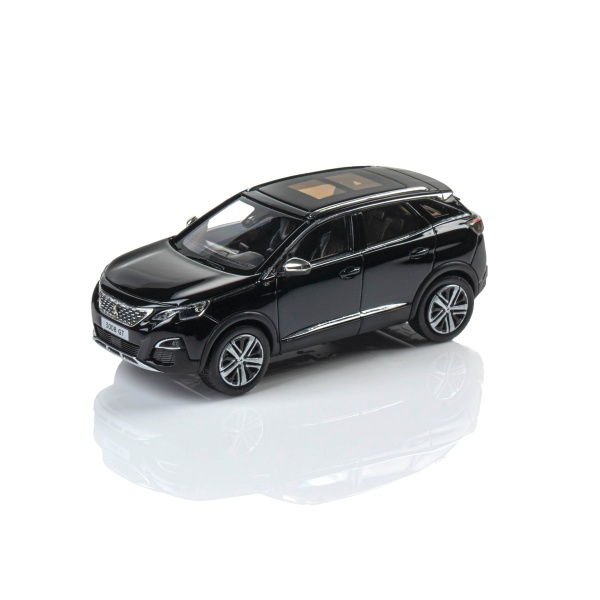 (代購) 3008 SUV GT 2016 珍珠黑 1:43 模型車  PEUGEOT, 寶獅, 模型車