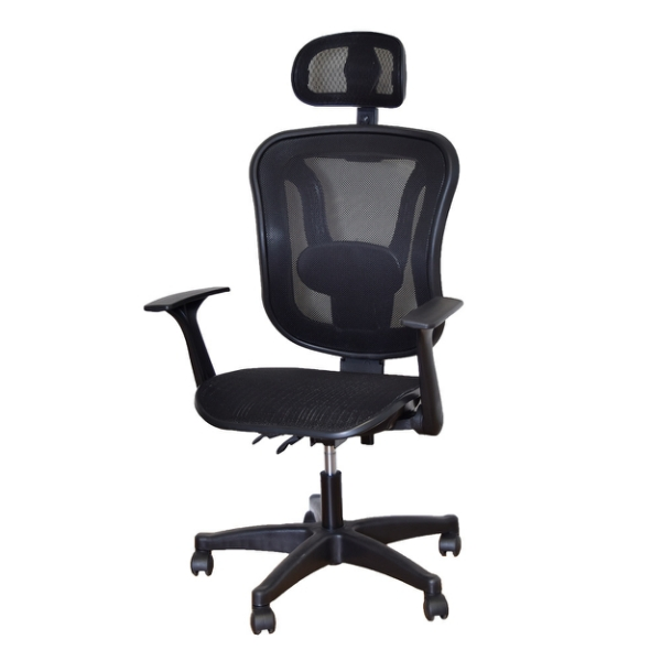 辦公椅 椅子 SKR 基本款透氣工學電腦椅 凱堡家居【A15909】 電腦椅, 辦公椅, 電競椅, 升降椅