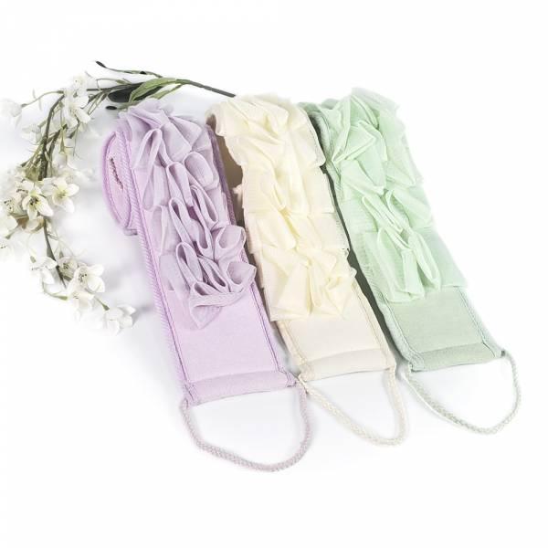 柔膚刷背沐浴巾(隨機出貨不挑色)