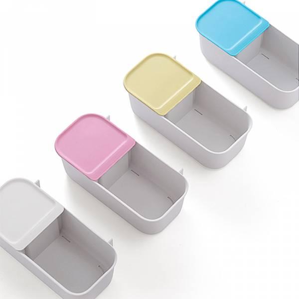 適用捲筒衛生紙/免釘/無痕/壁掛式多功能收納盒_4入_大容量
