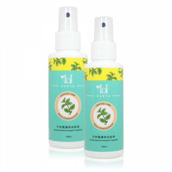全家都可使用~天然貓薄荷防蚊液(100ml)-2瓶 貓薄荷,防蚊液,驅蟲劑