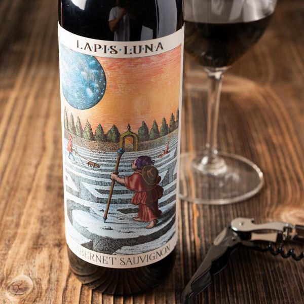 LAPIS LUNA Cabernet Sauvignon 2017 加州藍月酒莊 知行合一 卡本內紅葡萄酒 LAPIS,LUNA,加州,藍月,酒莊,SauvignonBlanc,2019,知足常樂,白蘇維翁葡萄酒
