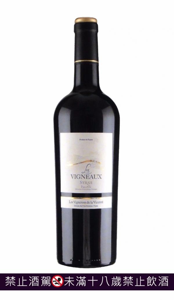法國 D'OC特優黃金長城紅葡萄酒  LES VIGNEAUX 2016 葡萄酒,紅酒,波爾多,sauternes,貴腐,法國,級數,甜白酒,頂級,白酒