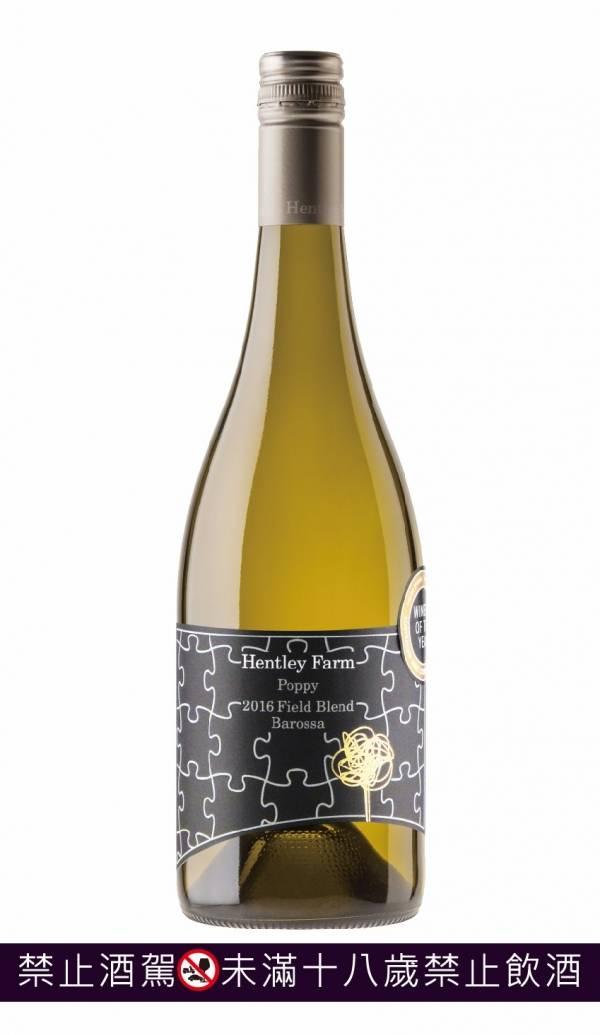 澳洲 HENTLEY FARM 公主白葡萄酒2018 葡萄酒,澳洲,白酒,夏多內,chardonnay,shiraz,希哈,hentley farm,Hentley Farm,Poppy,Field Blend, Barossa, Australia