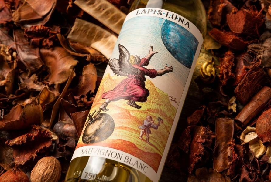 LAPIS LUNA Sauvignon Blanc 2019加州藍月酒莊 知足常樂 白蘇維翁葡萄酒  LAPIS,LUNA,加州,藍月,酒莊,SauvignonBlanc,2019,知足常樂,白蘇維翁葡萄酒