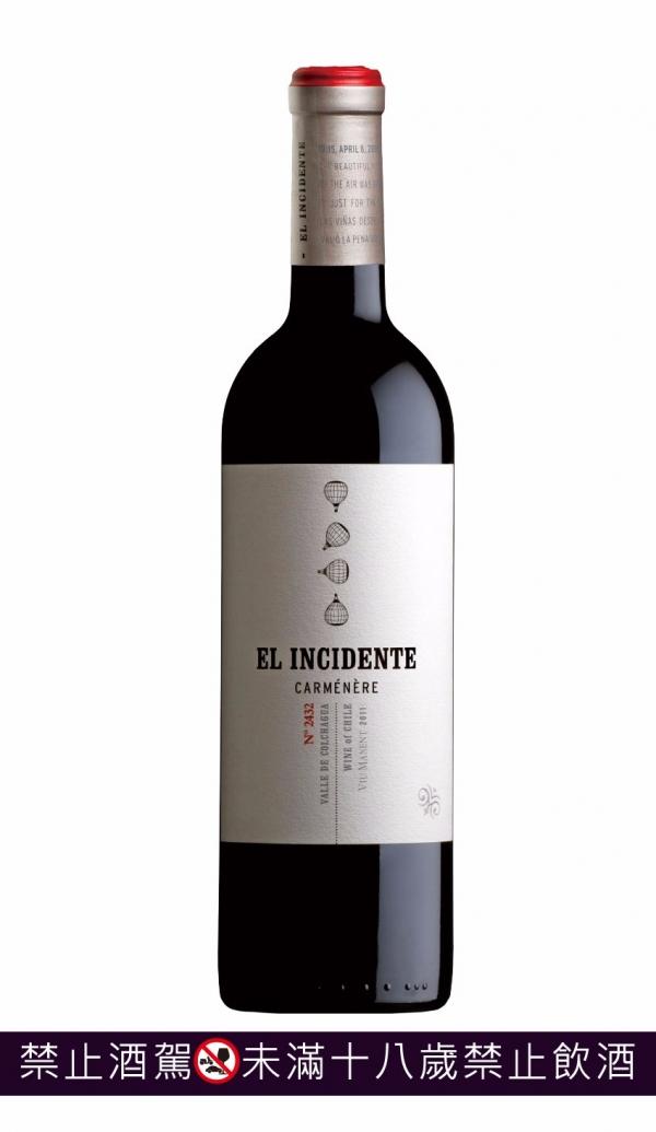 智利 El Incidente 天外奇蹟(單瓶原廠木盒裝) 葡萄酒,紅酒,白酒,香檳,汽泡酒,智利,品酒會,馬爾貝克,malbec,camenere