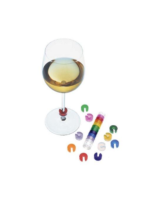Pulltex 酒杯七彩辨識環