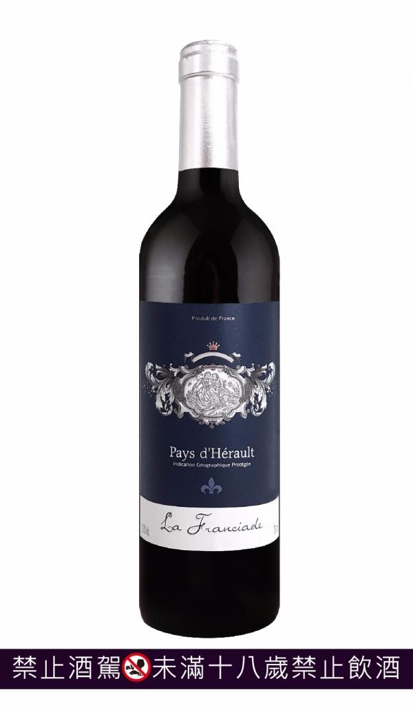 法國 優質IGP富利太紅葡萄酒  LA FRANCIADE 2016 葡萄酒,紅酒,波爾多,sauternes,貴腐,法國,級數,甜白酒,頂級,白酒