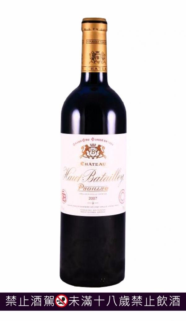 Ch. Haut-Batailley歐貝特利城堡 2007 葡萄酒,紅酒,級數酒,波爾多,品酒會, cabernet,卡本內,法國