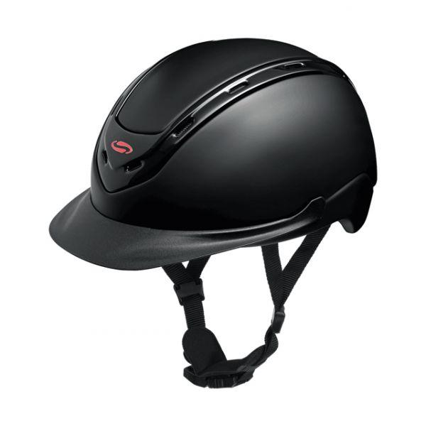 SWING 透氣騎士帽 (黑色/52-58cm/57-62cm)