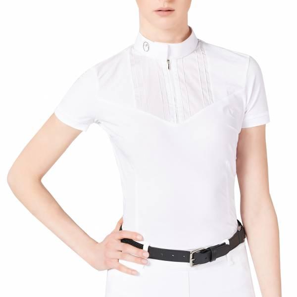 VESTRUM 女用比賽衫 (白色/S)