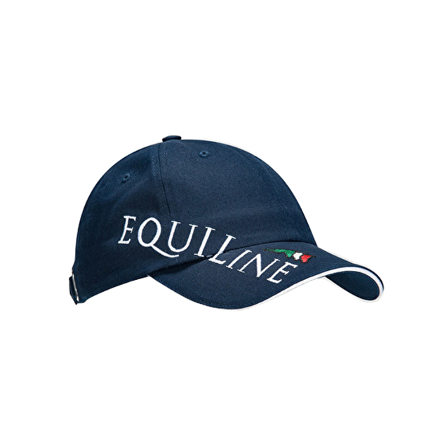 EQUILINE 棒球帽 (EQUILINE字樣/藍色)