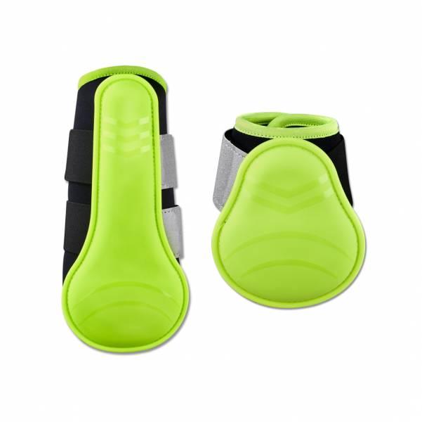反光安全護具 (螢光黃/前後腿)
