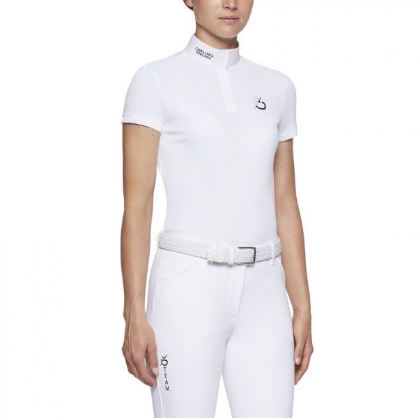 CAVALLERIA TOSCANA 女用比賽衫 (白色/M/L)