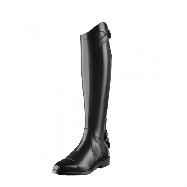 EGO7 騎馬長筒皮靴 (後拉鍊設計/黑色/36-44)