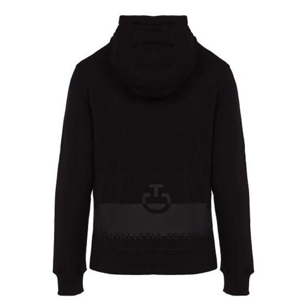 CAVALLERIA TOSCANA  男用連帽外套 (黑色)