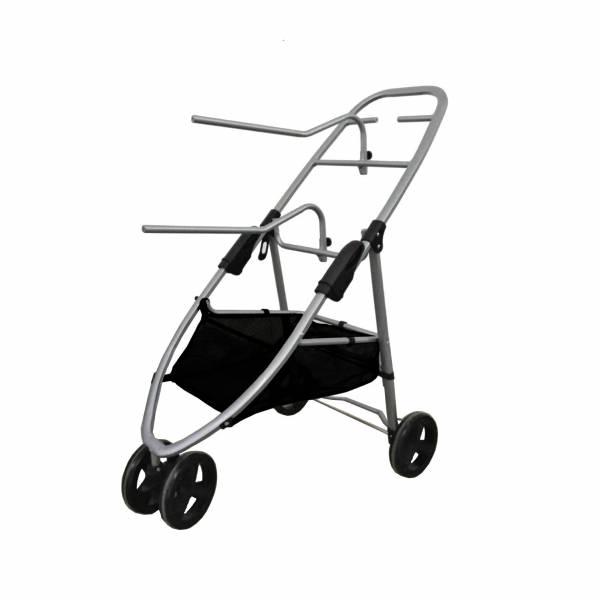 移動式馬鞍收納推車(可折疊/3輪)
