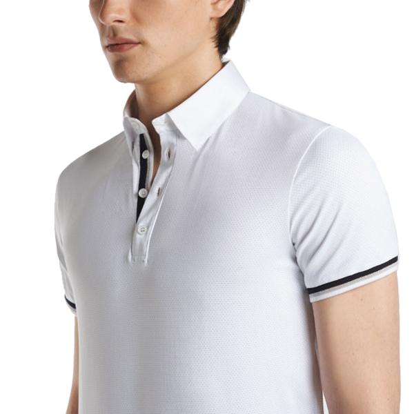 CAVALLERIA TOSCANA 男用比賽衫 (白色/M)