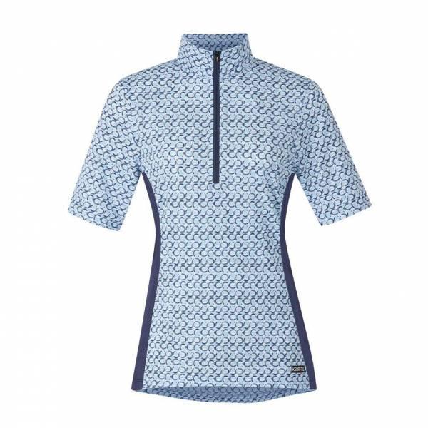 KERRITS 女用短袖衫 (涼感快乾/抗UV/蹄鐵印花/XS/S)