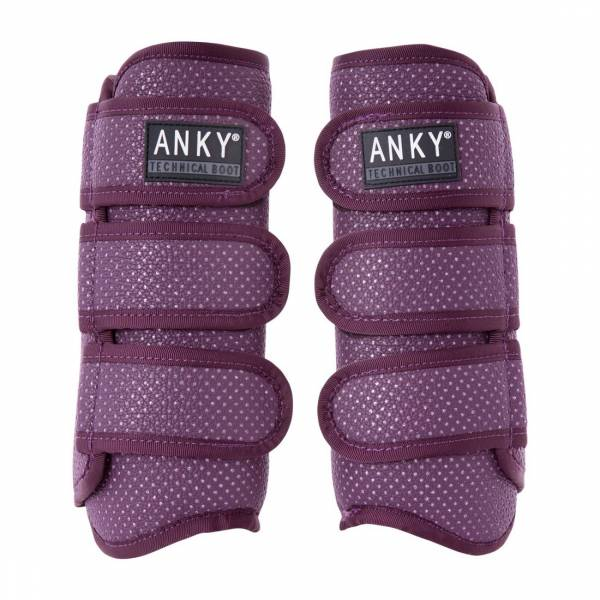ANKY 馬術護具 (一對/紫色/L)