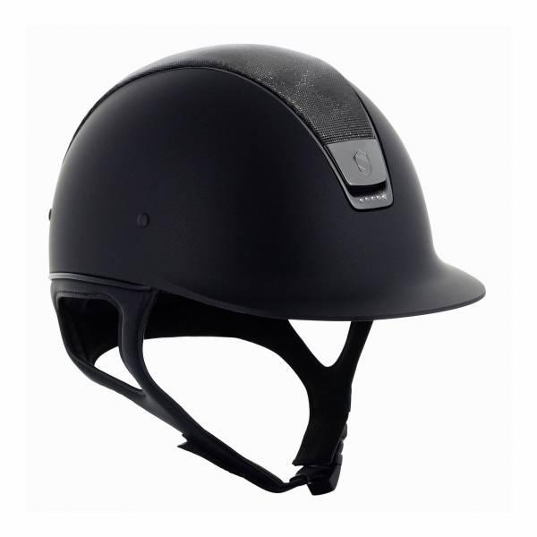 SAMSHIELD 訂製款騎士帽 (亮皮帽頂/5鑽/M) 不含帽襯,需另外加購