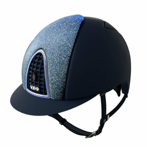 KEP 透氣騎士帽 (平光藍/銀框藍鑽/M/53/54/55/56/57/58)