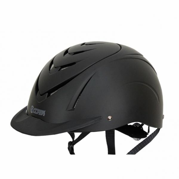 透氣騎士帽 (調整式/內襯可拆/黑色)