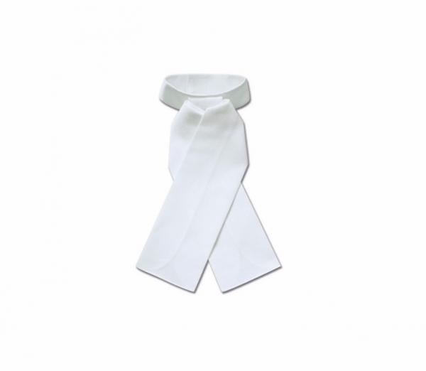 比賽用白色領巾 (馬場馬術/男用/女用)
