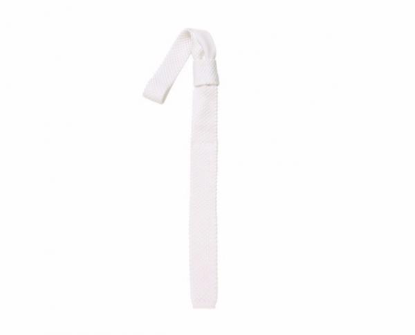 PIKEUR 比賽用白色領帶
