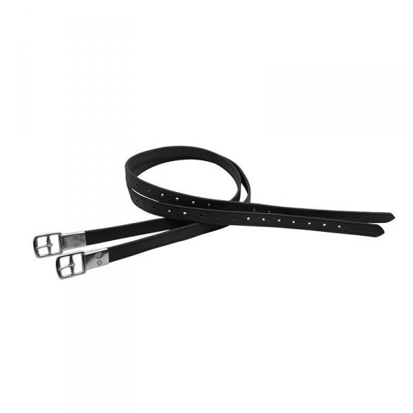 皮製鐙革帶 (140cm/黑色)