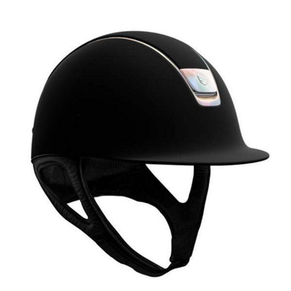 SAMSHIELD 訂製款騎士帽 (霧黑/幻彩珠光框/M) 不含帽襯,需另外加購
