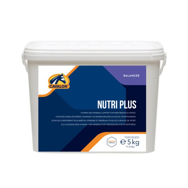 CAVALOR 馬用綜合營養素 (比賽馬/高訓練強度適用/5kg) NUTRI PLUS, CAVALOR, 馬用營養品