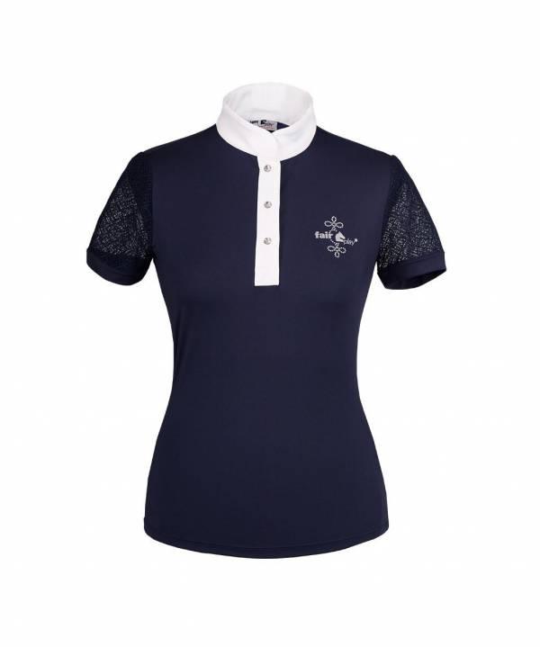 女用比賽衫 (藍色/36)