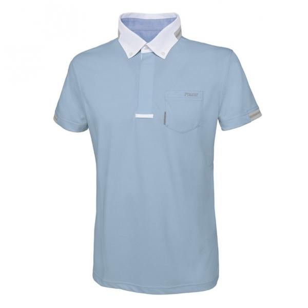 PIKEUR 男用比賽衫 (淺藍色/37)