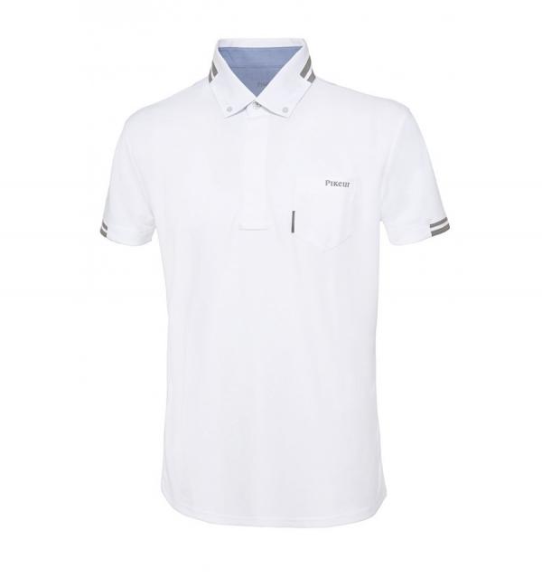 PIKEUR 男用比賽衫 (白色/37)