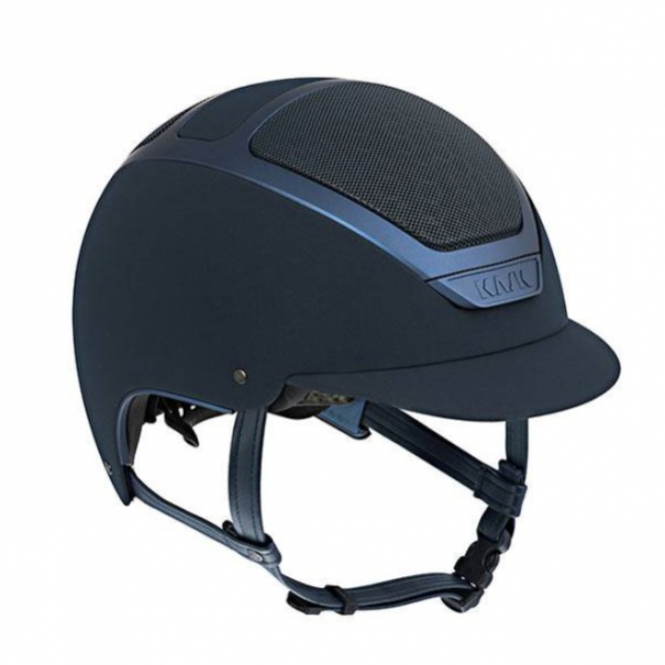 KASK 透氣騎士帽 (藍色/霧藍框/S/55/56)