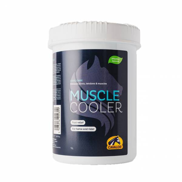 CAVALOR 馬用肌肉舒緩凝膠/MUSCLE COOLER (1L)