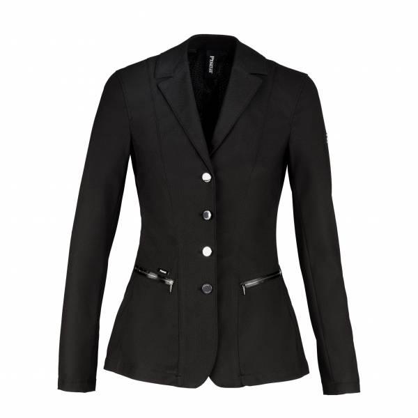 PIKEUR 女用比賽西裝外套 (透氣網眼設計/黑色/40)