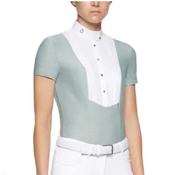 CAVALLERIA TOSCANA 女用比賽衫 (淺綠色/S/M)