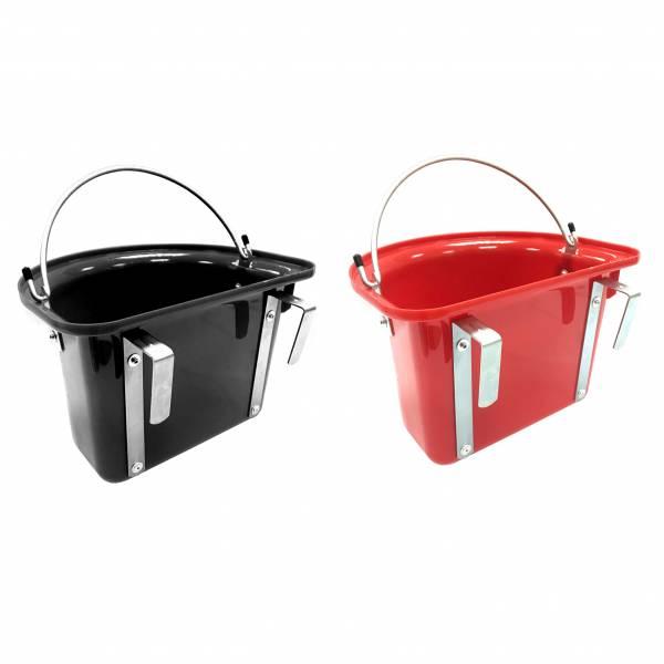 塑膠半圓形飼料桶 (可掛提式/2色可選)