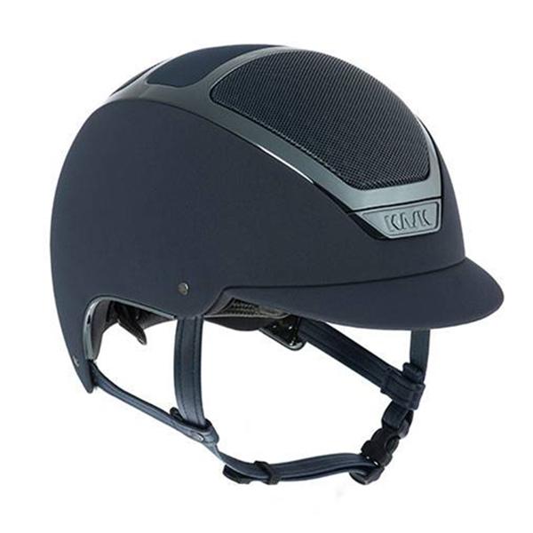 KASK 透氣騎士帽 (藍色/銀藍框/S/55/56)