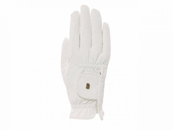 Roeckl 騎馬專用手套 (PU止滑/白色)