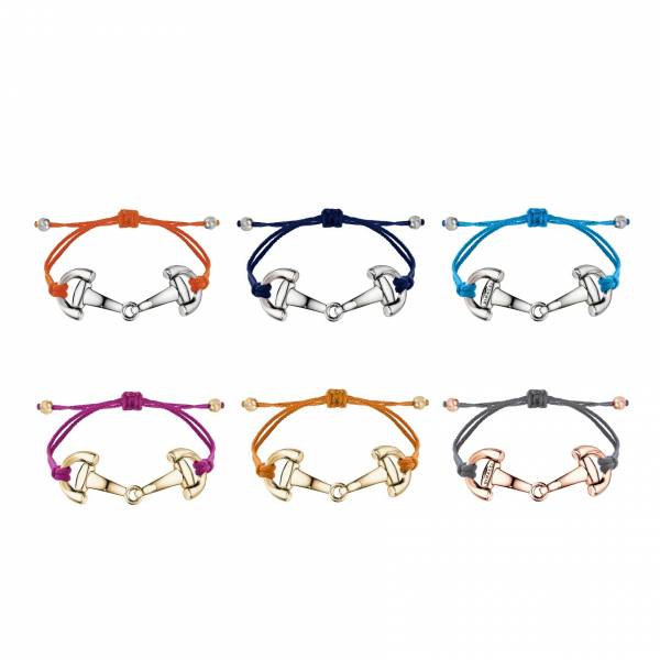 DIMACCI 可調式細線手環 (口銜造型/6色可選)