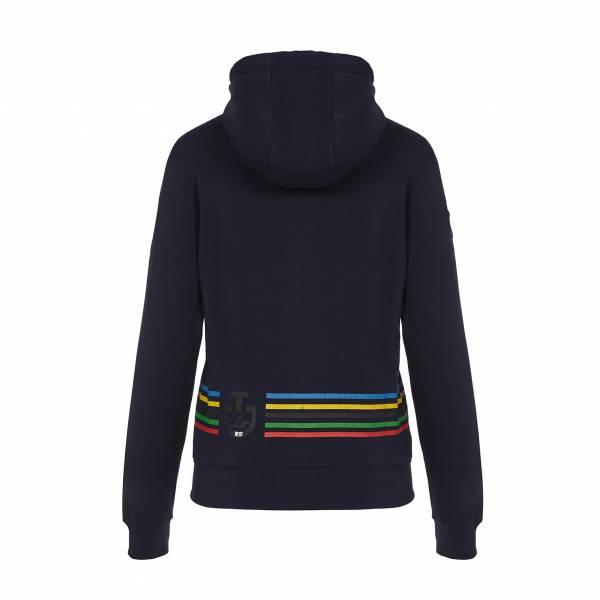 CAVALLERIA TOSCANA  女用連帽外套 (東京奧運限定版/深藍色)